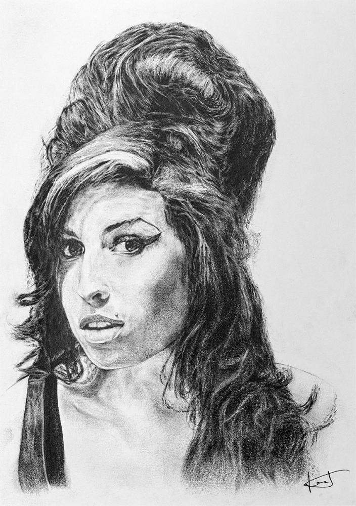 Amy Winehouse por portraitemoi